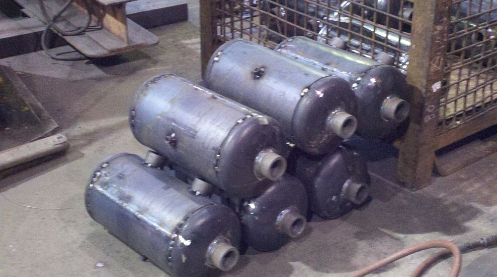 Smaller pressure vessels in process